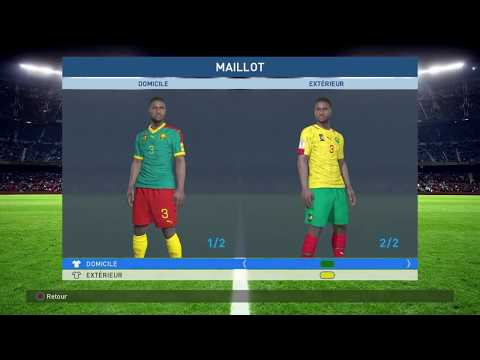 PS4 PES 2017 African National Teams Option Files HD