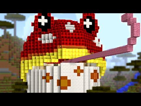 Minecraft vs Zombies | MEGA TOADSTOOL!! (Poisonous Frog) | PvZ  Land
