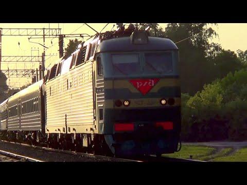ЧС7-229 с поездом №50 Москва – Казань