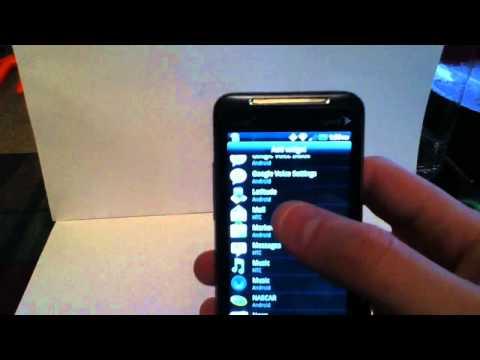 HTC Evo Shift 4G Homescreen Review