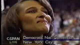 aretha franklin sings national anthem live madison square