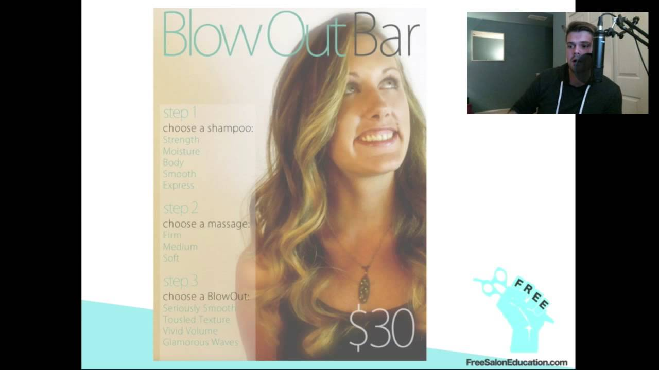 Make your Salon a Blow Dry Bar Salon with 1 step - Take advantage of the Blow Dry Bar Salon Trend