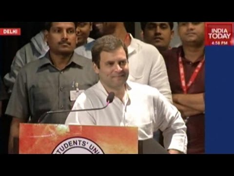 Rahul Gandhi Address NSUI National Convention