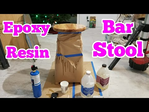 Epoxy Resin Bar Stool