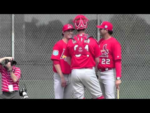St. Louis Cardinals - Pitchers & Catchers Day 1 Spring Training 2016