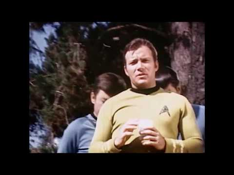 Rare Behind The Scenes Star Trek Footage