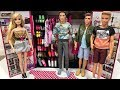 Barbie NEW Closet and NEW Ken Clothes!!