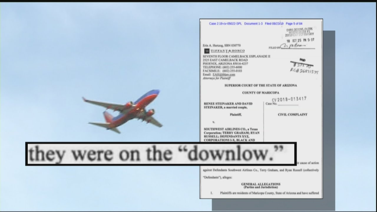 Flight Attendant Sues Southwest Airlines After Finding Hidden ...