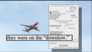 Did Southwest Airlines flight attendant find camera in plane lavatory?