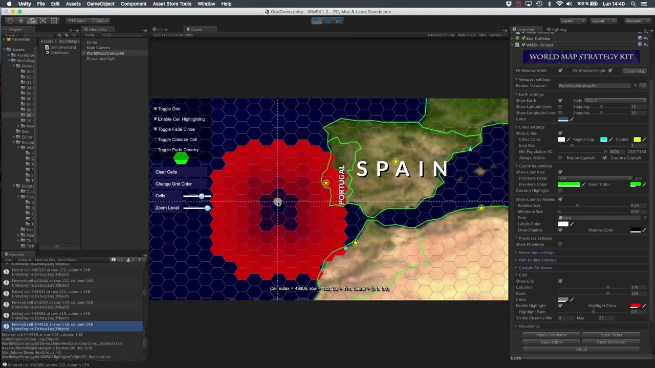 World map strategy kit demo video 8 hexagonal grid youtube world map strategy kit demo video 8 hexagonal grid gumiabroncs Image collections
