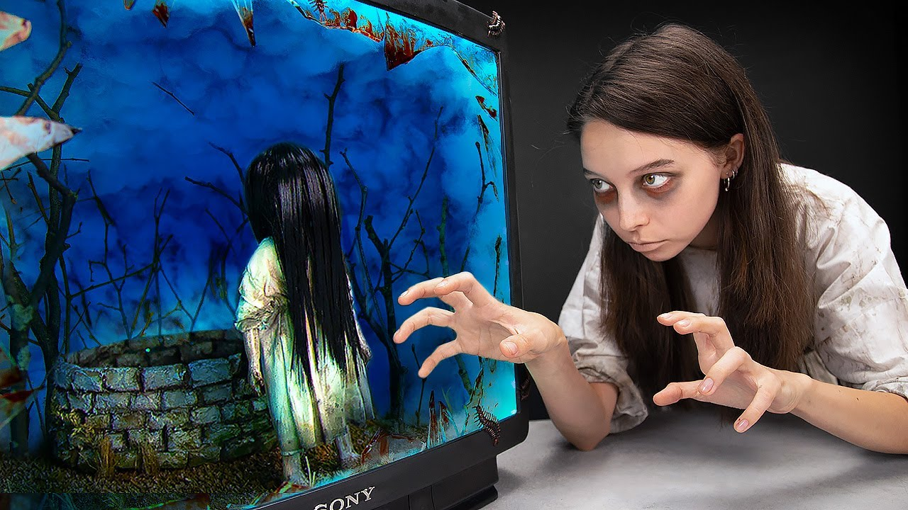 """The Girl From """"The Ring"""" Horror Movie On Your TV 