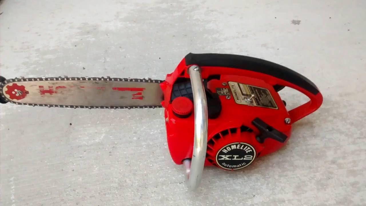 Homelite z3850b Chainsaw Manual