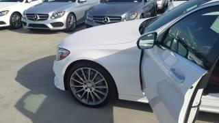 2017 Mercedes-Benz C300 Walkaround with Alan Villasenor