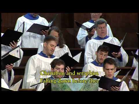 """Holy, Holy, Holy! Lord God Almighty!"" (NICEA) arr. Jeremy Bankson"