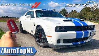 2020 Dodge Challenger HELLCAT 727HP Review on AUTOBAHN (No Speed Limit) by AutoTopNL