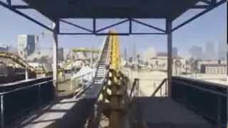 GTA 5 Leaked Gameplay Roller Coaster