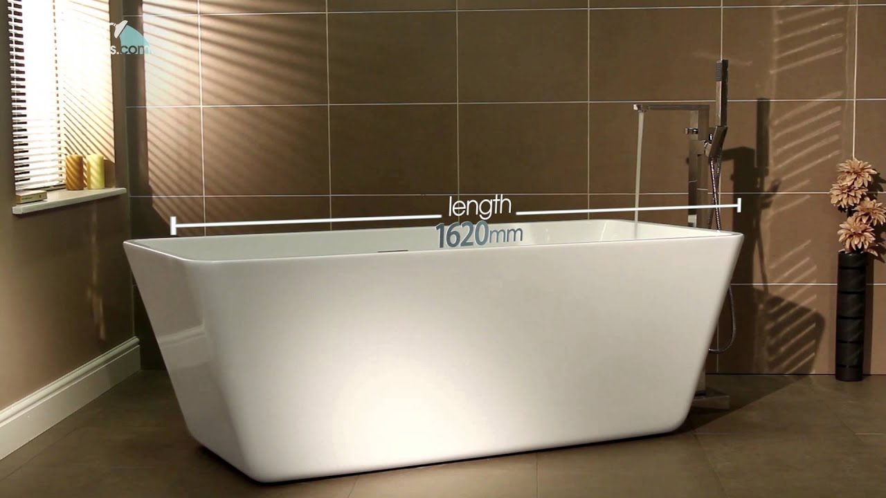 Porto Freestanding Bath - YouTube