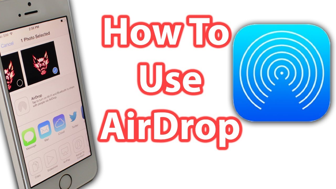 How To Use Airdrop For Ios 7, The Iphone, Ipad And Ipod Touch  Airdrop  Explained