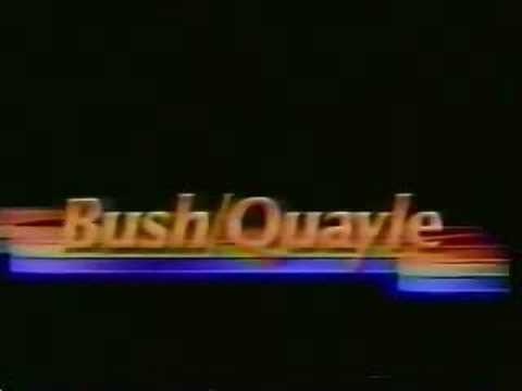 1988 Presidential Campaign TV Ads - Bush Ads - Part 2