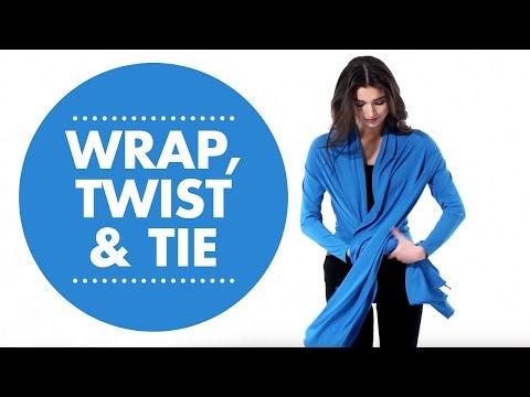 Convertible Cardigan: Wrap, Twist & Tie.  Simplicity Pattern 1065
