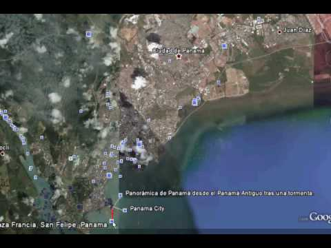 Panama from google earth youtube panama from google earth gumiabroncs Choice Image