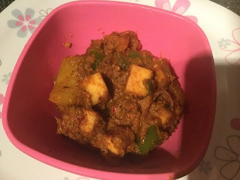 Paleo diet kadai paneer recipe in Tamil