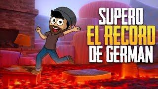 SUPERO EL RÉCORD DE GERMÁN !!