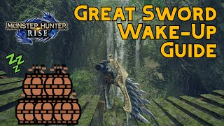 How To Wake Uṗ A Sleeping Monster With The Great Sword | Monster Hunter Rise