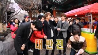 male fan kiss Yonghwa CNBLUE 130126