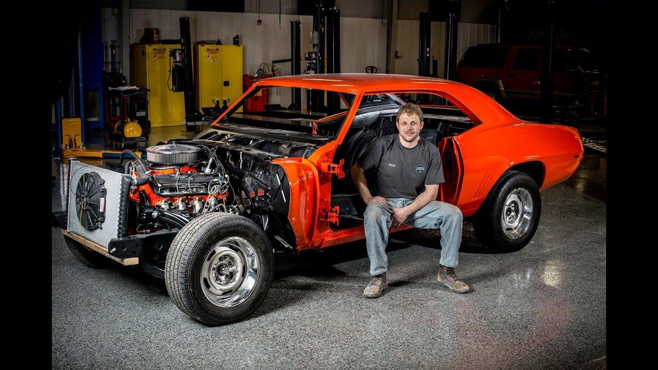 The Comeback Camaro: Hagerty employee camaro restoration project