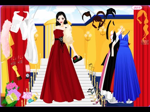 prom dress game | cartoon games to play | yourchannelkids - YouTube
