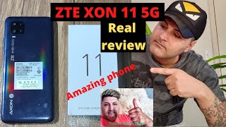 ZTE AXON 11 5G real review (this phone it's going to impress you by performance