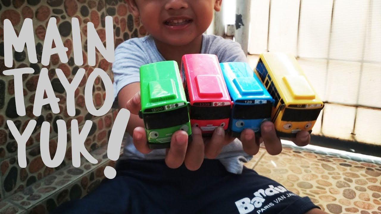 Main Mainan Tayo Let S Play Main Mobil Mobilan Sama Ayah Mainsamacalief Youtube