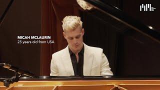 Semifinalist Micah McLaurin at Teatro Edi/Barrio's – Chopin, Scriabin