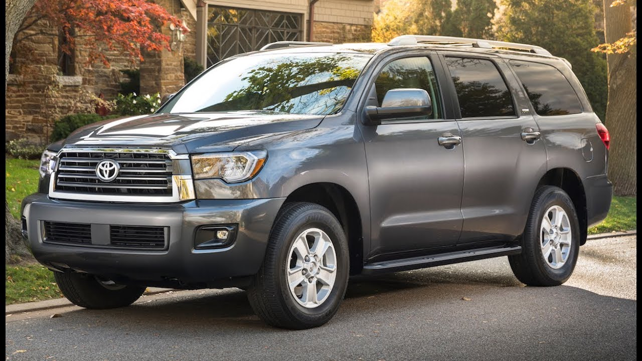 toyota sequoia review showing its age youtube