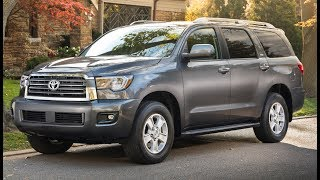 Toyota Sequoia Review-- SHOWING ITS AGE