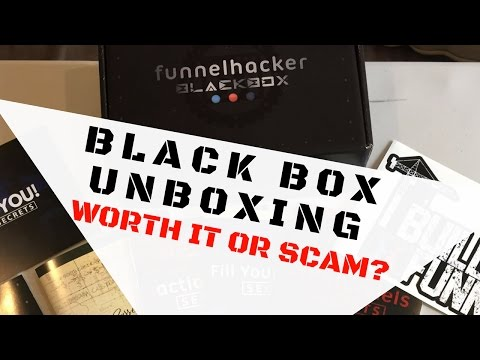 EXPERT SECRETS - Black Box Unboxing Worth It or Scam? Russell Brunson