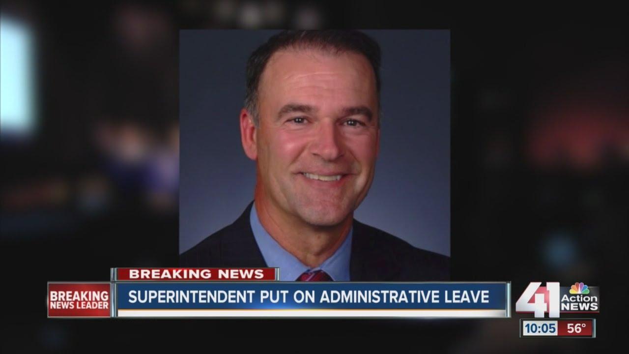 Lee's Summit superintendent put on administrative leave