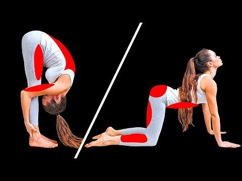 10+ основных поз в йоге, которые изменят ваше тело за 29 дней