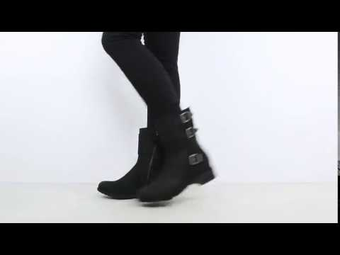 13af4308c09 UGG Wilcox Leather Boots in Black