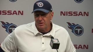 Titans Coach Mike Mularkey Press Conference | #HOUvsTEN