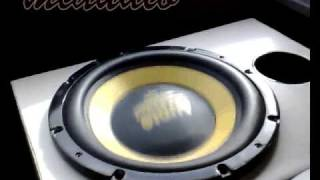 Subwoofer Test escursione - bass I love you Huge excursion