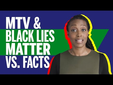 "Black Guy Debunking MTV Decoded ""4 Black Lives Matter Myths Debunked"" Video"