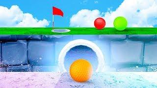 СЕКРЕТНЫЙ СПОСОБ ЗАБИТЬ С ПЕРВОГО РАЗА В НЕВОЗМОЖНУЮ ЛУНКУ! МЕГА КРУТАЯ КАРТА В ГОЛЬФ ИТ (Golf It)