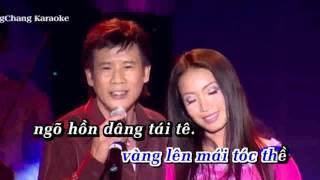 Karaoke - LK Đừng nói xa nhau, con đường xưa em đi (Mời nữ song ca)