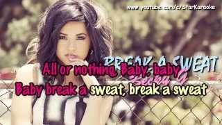 Becky G - Break A Sweat [Karaoke/Instrumental]