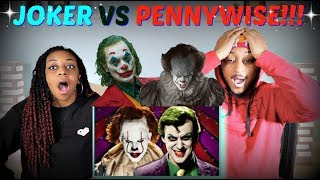 "Epic Rap Battles Of History ""The Joker vs Pennywise"" REACTION!!"