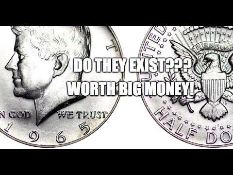 1965 90% Silver Kennedy Half Dollar? Transitional Errors Do They Exist?
