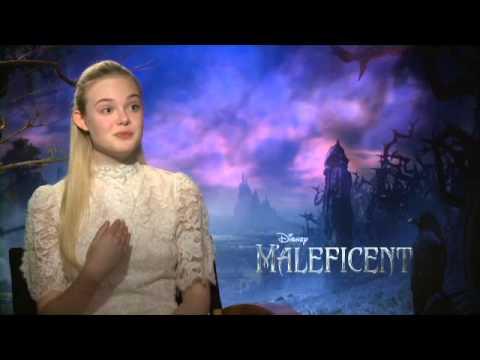 Elle Fanning - Maleficent Interview