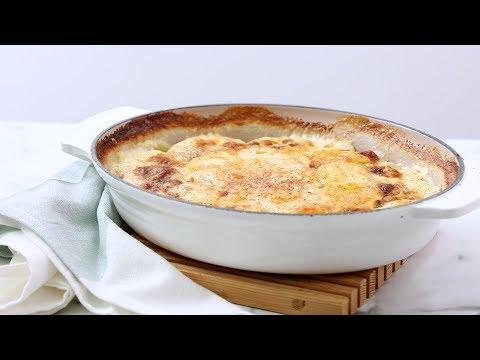 Potatoes Dauphinoise - Martha Stewart